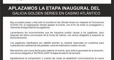 Cancelación de la primera etapa del Galicia Golden Series